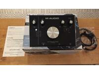 M-Audio M-Track 2X2 Portable 24-bit/192khz Studio Quality USB Audio Interface