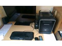 GTX 960 Gaming PC/keyboard and mouse with 32 inch HD monitor and creative 2.1 speakers JOB LOT