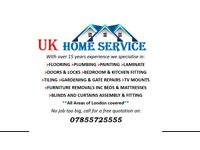HANDYMAN SERVICE BEDROOM FURNITURE,KITCHEN,BATHROOM,TILING,DOORS,BLINDS & CURTAINS FITING