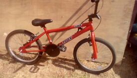 2 Bmx bikes. Used conditions. Great for renovation projects. Both can still be ridden.