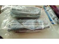 LUNCH BAG NEW IN PACKET. BLUE AND GREY OR BROWN AND BLUE