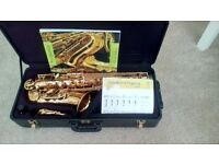 Alto saxophone make windsor. 3 years old. Bought from amazon