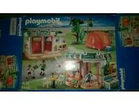 Playmobil Summer Fun large campsite set and people