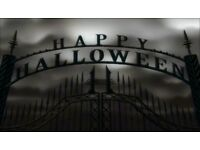 Virtual Halloween rated 18 or family friendly version. For large screen viewing or party projetion