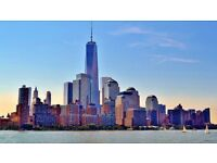 2 X Return flights to New York from Dublin - June 2017 with bag