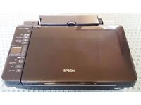 Epson Stylus SX218 All in One Printer - Instructions, Software & Spare Ink - Very Good Condition