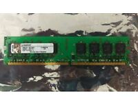 Kingston 1GB DDR2 PC2-5300 667MHZ RAM memory