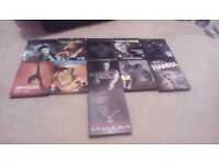 11 Collectable Steelbook Blu Rays. Free Delivery