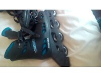 Roller blades, 2 pairs