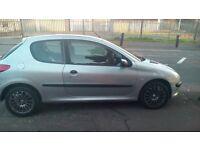 £30 ROAD TAX , PEUGEOT 206 1.4 HDI ; 2003 (52reg)