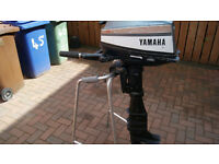 Yamaha 8hp 2 stroke ,Longshaft Outboard motor for Spares or Repair £150