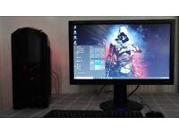Quad Core intel i5-4460 Gaming PC 8GB RAM SSD+HDD DDR5 Graphics Fortnite Ready desktop computer