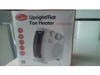Brand new still in box electic fan heater