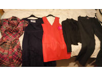 X6 items Ladies Dresses,Blouse,Jeans,TED BAKER, ZARA,NEXT,PER UNA, sz 10-14, in EXC. COND. As NEW