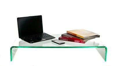 PERSPEX® ACRYLIC CABINET DISPLAY RISER SHELF 40cm STAND 5MM  COMPUTER IMAC