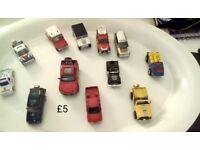 BOYS 4 x 4 CARS