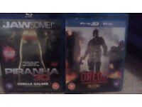 3D Blu Ray 2 Film Collection