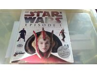 STAR WARS EPISODE I THE VISUAL DICTIONARY VERY GOOD CONDITION
