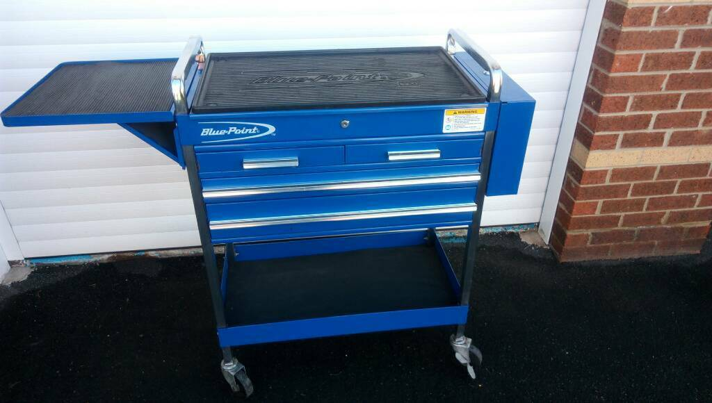 Blue Point Snap On Mechanics Trolley Tool Box In