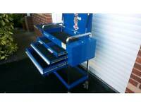 Snapon mechanics trolley by Blue Point.