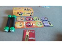 Zumba toning sticks and dvds