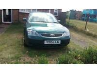 Ford mondeo lx 2001