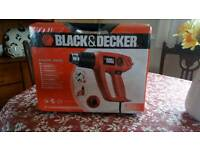 Black & Decker heatgun kit brand new