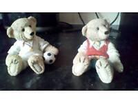 Leonardo bears ornaments