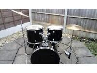 Rockburn 5 piece drum kit