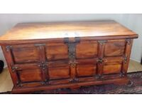 Middle Eastern wooden chest