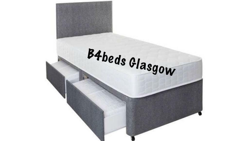 Picture of: Single Divan Bed With Mattress 2draws Headboard Available Double King Size In Glasgow City Centre Glasgow Gumtree
