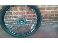 26 inch m/f/x pure breed mountain bike wheels
