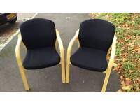 Heavy duty visitor/ reception chairs
