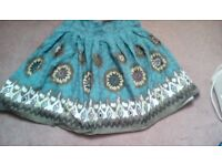 Brightly coloured skirt size 16