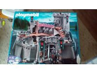 Playmobil knight castle 4866 with dragons layer set