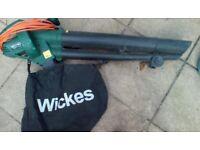 2500w Leaf blower/ Vacuum