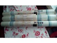 Laura Ashley wallpaper x 3 rolls, new in packaging.