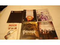 Brand new rock music guitar books