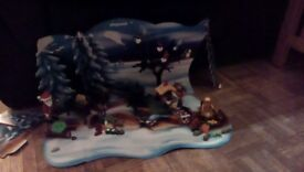 Playmobil advent winter scene set