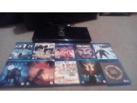 Sony 3D Blu Ray/Dvd Player HDMI 10 Blu Rays Free Delivery