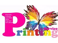We offer Printing Service - Canvas - Posters - Wall Decals - Light box