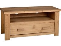 New Solid Block TV Cabinet SALE £89 in stock now