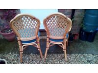 Conservatory chairs and bar stool