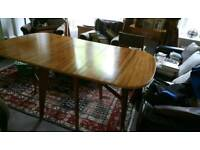Morris of Glasgow Cumbrae dining table and 4 chairs