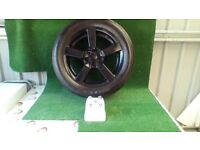 "Mitsubishi Outlander 18"" Alloy Wheels. Colour black."