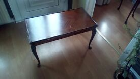 2 off Small Hardwood Tables , which are perfect for upcycling