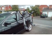 Thule Hullavator Roof Rack, piston assisted for kayak. £350. Comes with roof bars