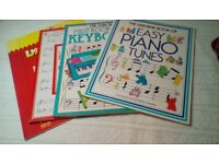 Selection of Usborne music books for younger beginners