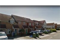 Thamesmead SE28. Newly Redecorated 3 Bed 2 Bath Furnished House with Garden & Driveway