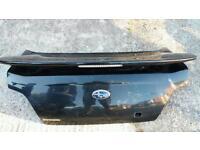 Subaru impreza hawkeye boot lid with spoiler